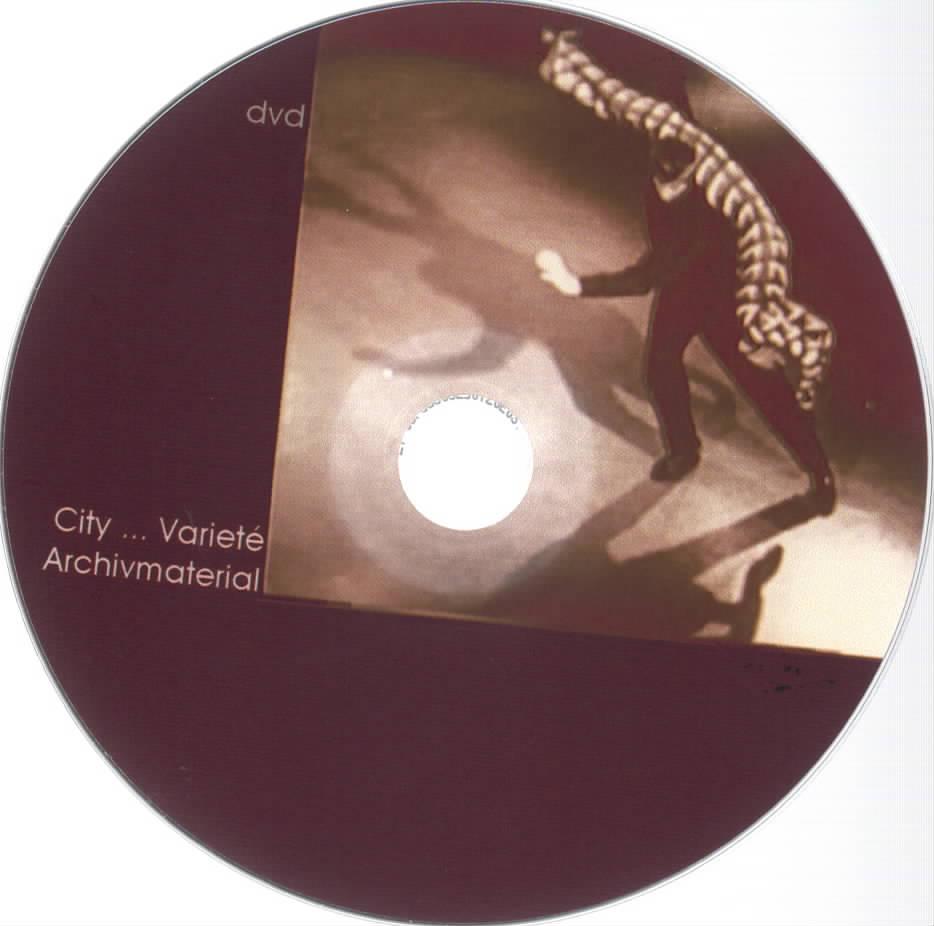 DVD City Variete Archivmaterial