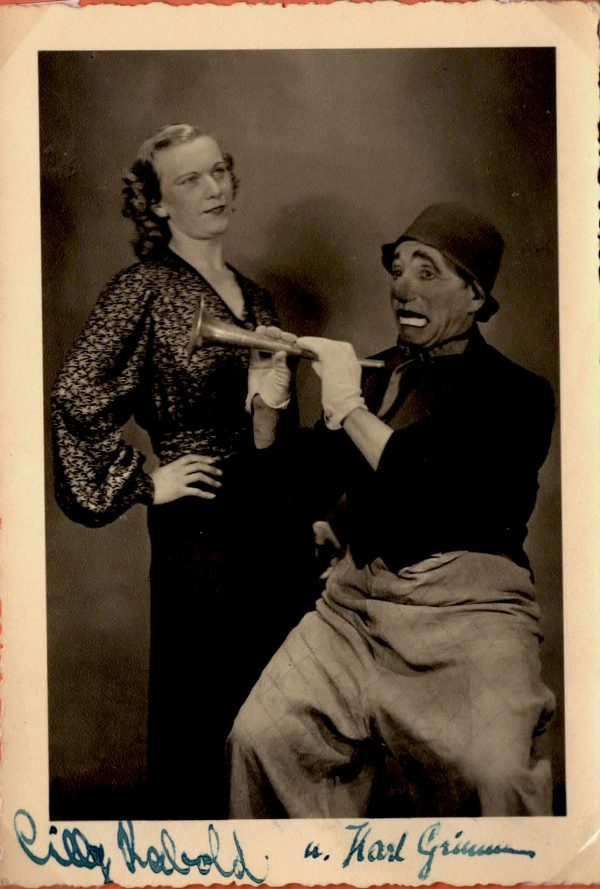 Cilly Rabold und Karl Grimm