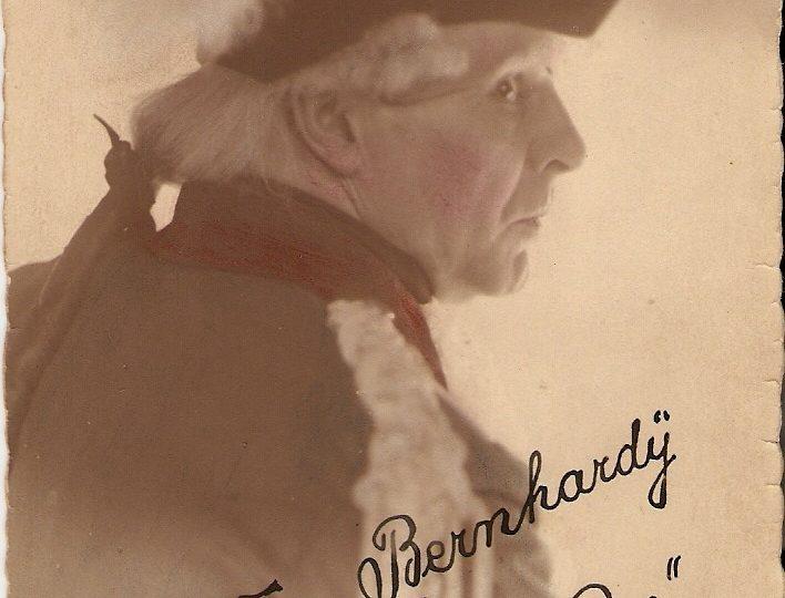 Auszug aus dem Erinnerungsalbum von Walter Bernhardy